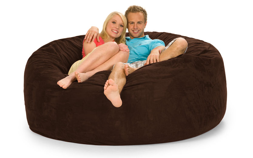 Goliath 6u0027 ShaggyBag | Bean Bag Chairs | Furniture Store Online | Home  Theater Furniture